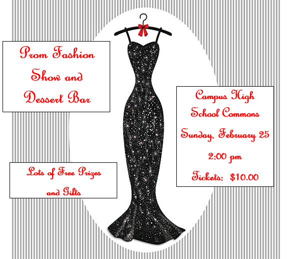 Prom Fashion Show and Dessert Bar