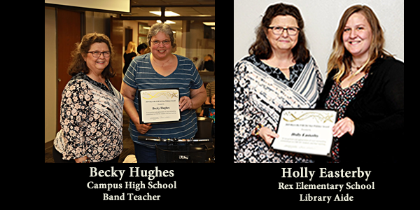Spring Star Polisher Recipients