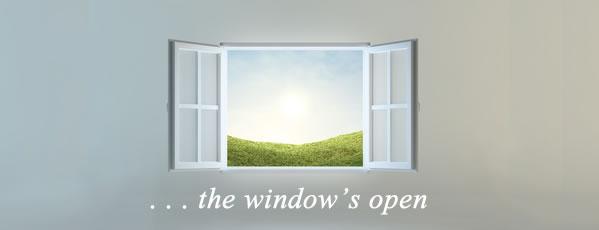 The Window's Open to Grow